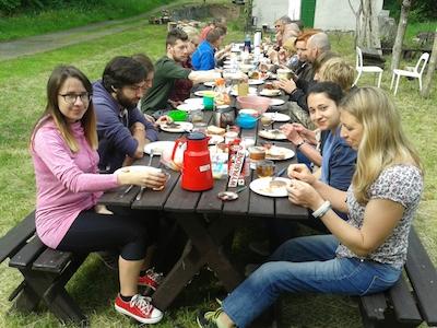 Gruppenfoto des Treffens